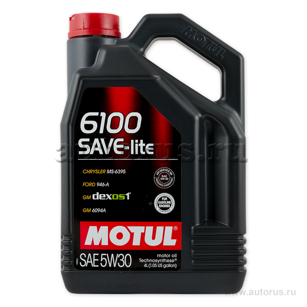 Масло моторное Motul 6100 Save-Lite 5W30 4 л 107957